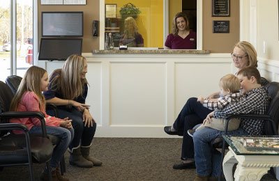 Chiropractic Andalusia AL Patients in Waiting Room