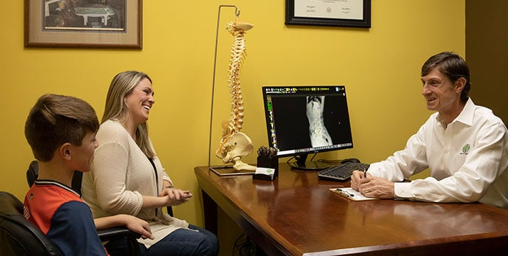 Chiropractor Andalusia AL Charles Raley IV Consultation